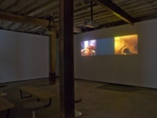 (installation view), Laleh Khorramian