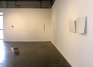 M5, Installation view, Nancy White, Patricia Zarate, Steve Karlik, Mel Katz