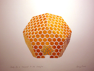 Study for a Monument to the Honeybee, Casey Lurie