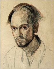 Self-Portrait, Wiliam Utermohlen