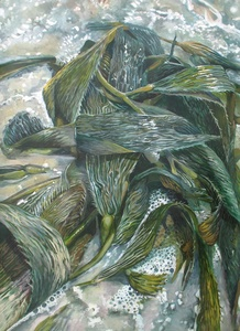 20100821175044-2-treacy_jamie_in_each_leaf_were_glimmering_rivers_35_3-4_22x51_3-4_22_acrylic_on_paper