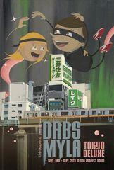 \'Tokyo Deluxe\' postcard (Front), Dabs Myla