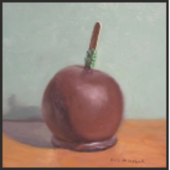 Chocolate Entombed Apple,Gary Mikoluk