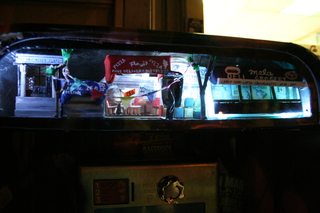 Five places surrounding phonebooth inside phonebooth, Havemeyer Street, Brooklyn, New York,