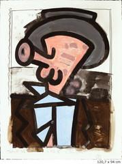 Untitled (I), Carroll Dunham