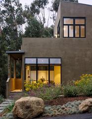 Entry Porch, Sea Level House, Davida Rochlin AIA