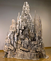 Forever (blank) Matter, Diana Al-Hadid