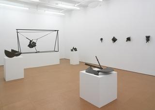 installation view, Melvin Edwards