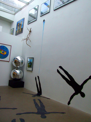 Installation shot of \'Right But Wrong\', Storm Thorgerson