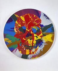 Beautiful Hermes Amnesia Painting, Damien Hirst