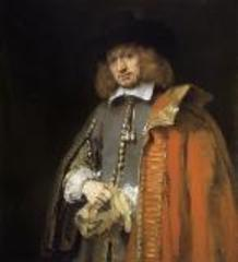 Jan Six portrait , Rembrandt van Rijn