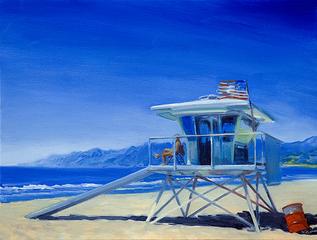 Lifeguard Station, SM, Warren Keating