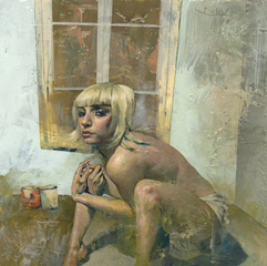 Blonde Natalia Again, Kent Williams