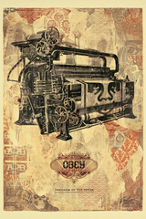 Freedom of the Press, Shepard Fairey
