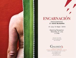 Opening Invitation ENCARNACIÓN, Kate McKenna