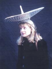 Satellite Dish Hat, Alyce Santoro