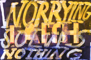 YES (Worrying Solves Nothing), Dana Frankfort