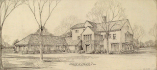 Proposed Alteration to house for D.H. Burnham, esq. Hubbard Woods,Daniel Burnham Junior