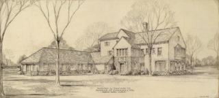 Proposed Alteration to house for D.H. Burnham, esq. Hubbard Woods, Daniel Burnham Junior