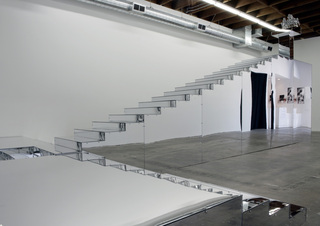 Installation view from LA&gt;&lt;ART, 2008,Kori Newkirk
