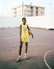 Girl with Basketball, Luca Sage