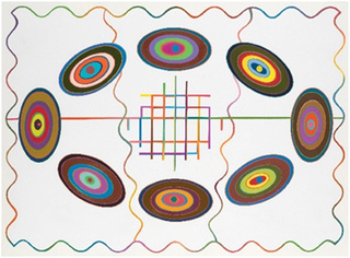 Eight ovals, Marilyn Lerner