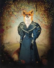 Fox in Blue Riding Dress, Oksana Badrak