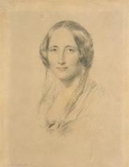 Elizabeth Cleghorn Gaskell (née Stevenson), George Richmond