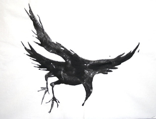 The Ravens, Joan Miro