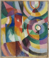 Electric Prisms, Sonia Delaunay-Terk