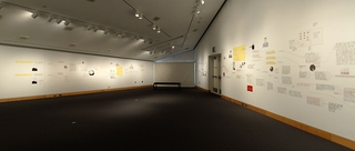 You are one step closer to learning the truth (installation view), Deb Sokolow