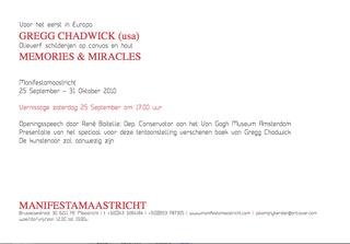 Memories & Miracles, Gregg Chadwick