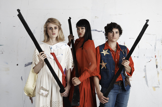 Annie Claire (Claire Cronin), Annie Jasmine (Jasmine Orpilla), and Annie Dawn (Dawn Kasper),