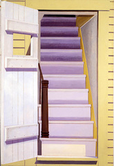 Door Staircase, Lois Dodd