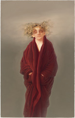 Portrait (Red Robe),Anne Harris