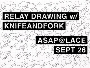 Relay Drawing, Knifeandfork