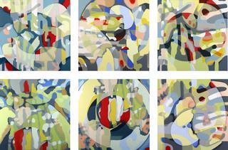 Video Composite 14-19 (six piece layout), pamela marks