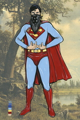 Untitled (Blood Superman), Steve Seeley