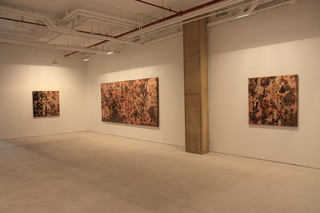 Installation shot, Feng Mengbo