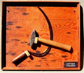 Antique Tool Rack, Tony May