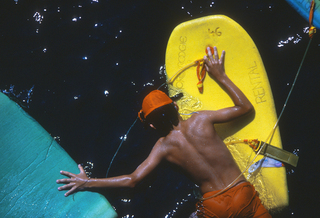 Yellow Snorkler, Roger Camp