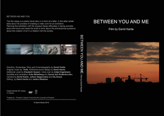 Between you & me, Eemil Karila