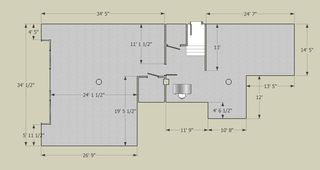 Gallery Floorplan by John Rees Architects,