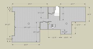 Gallery Floorplan by John Rees Architects,