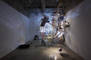 360 (Portable Planetarium), Sarah Sze
