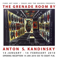 THE GRENADE ROOM, Anton Kandinsky