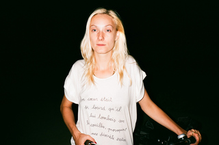 Jen et handwriting T-shirt, Maxime Ballesteros
