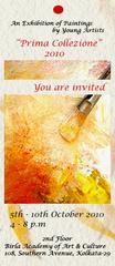 Prima Collezione, Invitation Card
