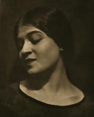 Tina Reciting, Edward Weston