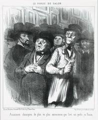 Lovers of classical art more and more convinced that art is lost in France, Honoré Daumier